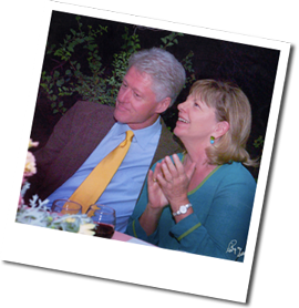 President Clinton and Deborah